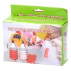Cake Decorating Icing Crema Piping Contenedores Boquillas Set (3-Pack)