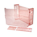 Shining Crystal Case for Wii Console (Translucent Red)