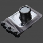 20 Meters Waterproof Protective PVC Bag Case for Camera - Coffee + Black