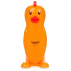 Cartoon Chicken Style Rechargeable Folding 2-Mode 22-LED White Light Desk Lamp - Orange