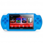 "PMP 4.3"" LCD Game Console Media Player w/ 1.3MP Camera / TV-Out / TF - Blue (2GB)"