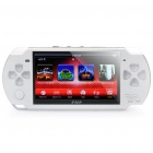 "PMP 4.3"" LCD Game Console Media Player w/ 1.3MP Camera / TV-Out / TF - White (2GB)"