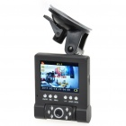 720P 5MP Wide Angle Car DVR Camcorder w/ 6-LED IR Night Vision / HDMI / TF (2.8
