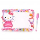 Hello Kitty Figures Dry Erase White Board (21 x 14cm)