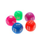 Multicolored LED Dices (5-Pack)