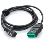 OBD2 Car Detection Diagnostic Cable - Black (240cm)