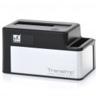 "Mukii Transimp TIP-D180U3-BK 1.0"" LED USB 3.0 2.5"" / 3.5"" HDD Docking Station - Black"