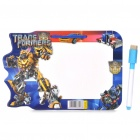 Transformers Figures Dry Erase White Board (21 x 14cm)