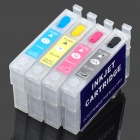 Refillable Color Ink Jet Cartridge for Epson ME30 / ME300 / Office 360 + More