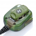 Kenwood Walkie Talkie Handheld Microphone - Camouflage Green