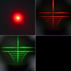 4X 25mm Red/Green Mil-Dot Reticle Rifle Scope with Gun Mount - Black (3 x AG13 + 1 x CR2032)