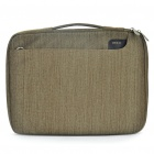 "ROCK Protective Handbag One Shoulder Bag for Mac Book Air 13"" / 14.1"" Laptop Notebook - Khaki"
