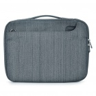 "ROCK Protective Handbag One Shoulder Bag for Mac Book Air 13"" / 14.1"" Laptop Notebook - Grey"