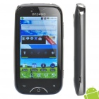 "A6000 Android 2.3 Smartphone W / 3,2 ""-Touchscreen, Dual SIM, TV und Wi-Fi - Schwarz + Silber"