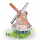 Holland Windmill DIY Paper 3D Puzzle Model (45-Piece)