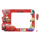 Cars Figures Dry Erase White Board (21 x 14cm)