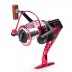Professional Spinning Fishing Reel - Black + Red