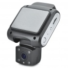 "HD 720P 1.5"" TFT 3.0MP 1/4 CMOS Wide Angle Car DVR Camcorder w/ 4-LED IR Night Vision / AV OUT / TF"