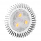 MR16 3.7W 3200K 200LM 3-LED Warm White Light Bulb (DC 11~18V)