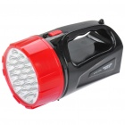 TAIGEXIN TGX-702 Rechargeable 2-Mode 19-LED White Light Taschenlampe (AC 110 ~ 220V / 2-Flat-Pin-Stecker)