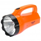 TAIGEXIN TGX-912 Rechargeable 2-Mode 1-LED White Light Flashlight (AC 110~220V / 2-Flat-Pin Plug)