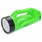 TAIGEXIN TGX-910 Rechargeable 2-Mode 9.12-LED Flashlight Weiß (AC 110 ~ 220V / 2-Flat-Pin-Stecker)