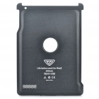 8500mAh Rechargeable External Battery Back Case for iPad 2 - Black