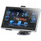 "7.0"" Touch Screen Win CE 6.0 Portable Car GPS Navigator w/ FM - Black (US Map/128MB SDRAM/4GB)"