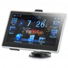 "7.0"" Touch Screen Win CE 6.0 Portable Car GPS Navigator w/ FM - White (US Map/128MB SDRAM/4GB)"