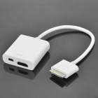 30-Pin Connector to HDMI Female + Mini USB Female AV Output Cable for iPad / iPhone 4 / iPod Touch