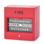 Emergency Break Fire Alarm Button - Red