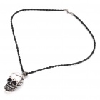Cool Skull Head Style Ox Bone Pendant Necklace (51cm - Length)