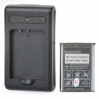 Designer's BST-37 900mAh Battery w/ Charging cradle for Sony Ericsson K750 / W800 + More