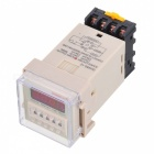 Buy DH48S 1.4 inch LED 4-Digit Digital Display Time Delay Relay Counter