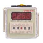 "DH48S 1.4"" LED 4-Digit Digital Display Time Delay Relay Counter"