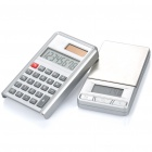 Portable Digital Pocket Scale + Calculator - 1000g/0.1g (1 x LR1130 / 2 x AAA)