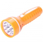 TGX-804 Rechargeable 2-Mode 9-LED White Light Flashlight - Orange (110~220V)