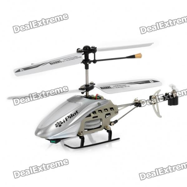 Iphone/Ipod Touch/Ipad Controlled Rechargeable 3.5-CH R/C i-Helicopter w/ Gyroscope - White a975got tbd b a975got tba ch a975got tbd ch touch pad