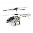 Iphone / Ipod Touch / Ipad Kontrollerad Uppladdningsbar 3,5-CH R / C I-Helikopter med Gyroskop - Vit