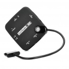 Multifunctional Card Reader USB Hub for Samsung Galaxy Tab 10.1 - Black (Max. 16GB)