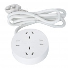 4-Outlet Socket Power Plug Adapter (250V)