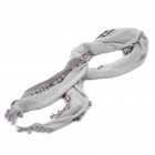Fashion Long Knitting Wool Scarf Shawl - Grey
