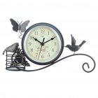 Stylish Iron Art Clock (1 x AA)