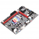 Colorful Intel H61 LGA1155/SNB Dual DDR3 Channels PCI Motherboard - Black