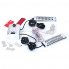 Zigarettenanzünder Powered Decoration 44-LED Car Sound Effect Control Musik-Licht (DC 12V)