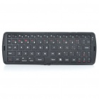 Portable Folding Bluetooth V3.0 66-Key Keyboard - Black