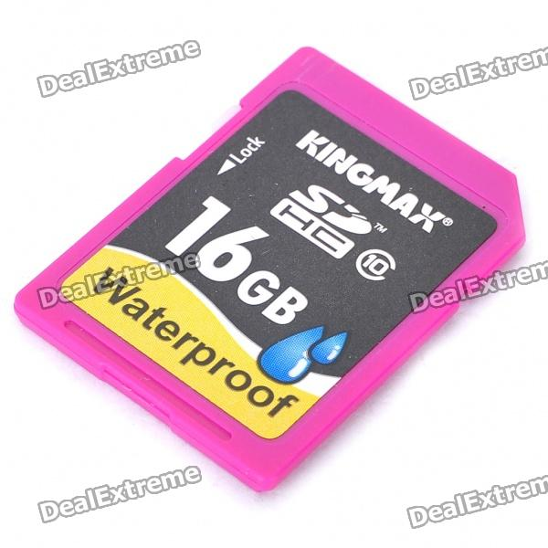 Genuine KINGMAX Waterproof SD Memory Card (16GB / Class 10)