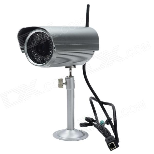 720P Waterproof CMOS Wireless WiFi Network Surveillance Camera w/ 36-LED IR Night Vision