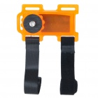 Bicycle Pod Action Mount for Camera Camcorder - Orange
