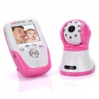"2,4 GHz Wireless-8-LED Nachtsicht-Kamera mit 2,5 ""LCD Baby Monitor - Red + White"